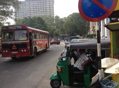 スリランカの交通事情
