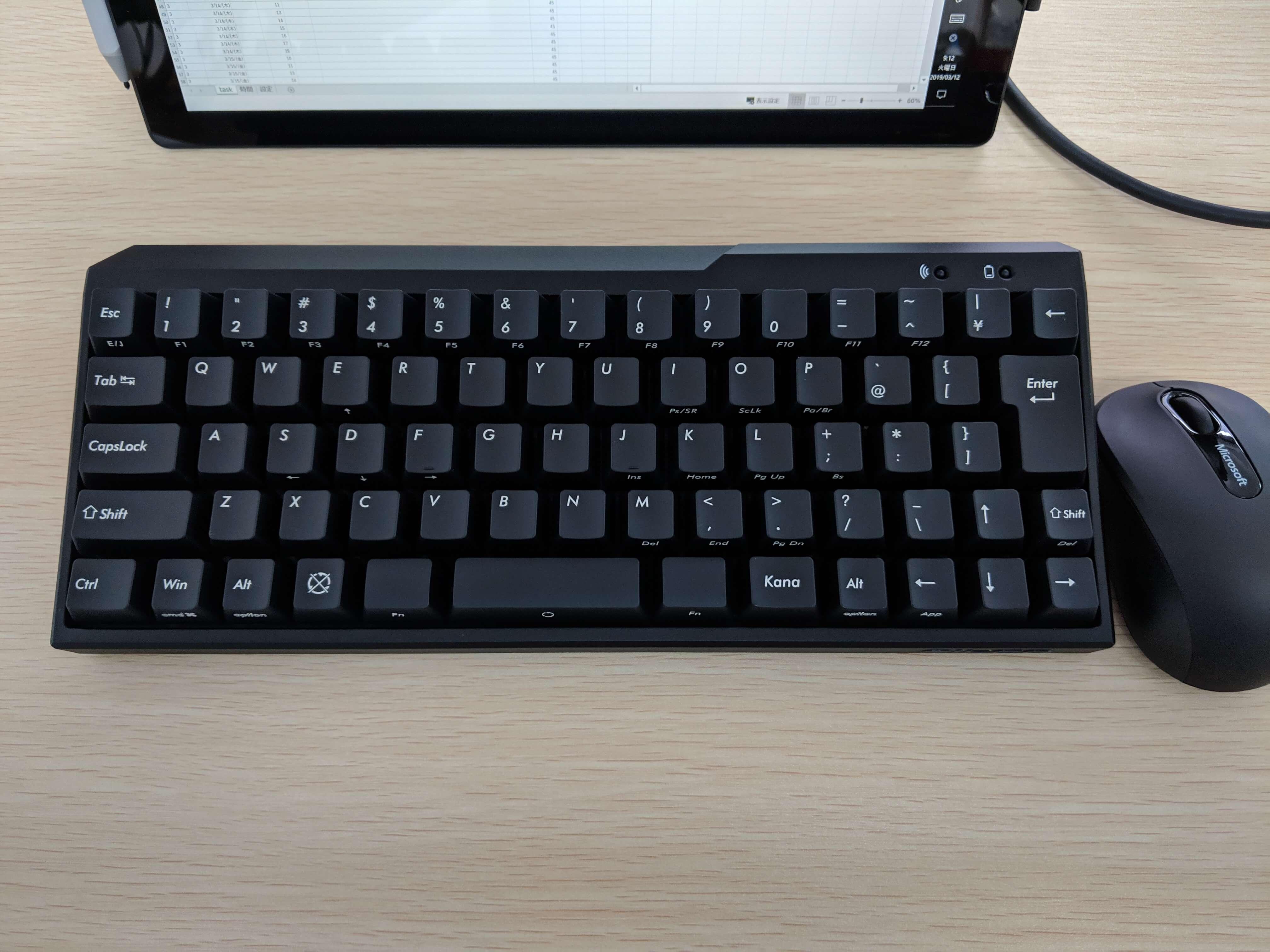 Bluetoothキーボードのチャタリング問題